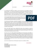 RPS13 Lettre Aubry 11sept