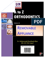 A to z Orthodontics Vol 10 Removable Orthodontic Appliance