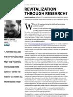 Revitalization Through Research