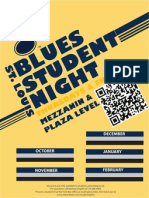 STL Blues Student Night Designs