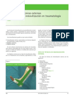 Tecnicas Externas de Inmovilizacion en Traumatologia