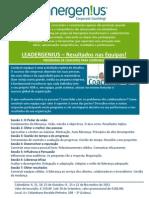 Programas de Coaching em Grupo da Innergenius em Outubro de 2012