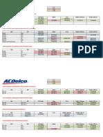 Catalogo Acdelco