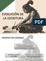 Evolucion de La Escritura