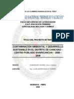 PROYECTO DE CONTAMINACIÓN AMBIENTAL
