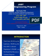 JUST Nuclear Engineering Program NX-2007