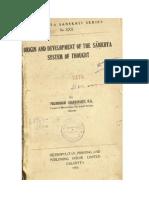 Origin and Development of the Samkhya System of Thought by Pulinbihari Chakravarti