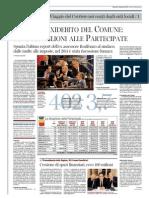 Corriere del Mezzogiorno 11.09.12 - Napoli Maxidebito del Comune