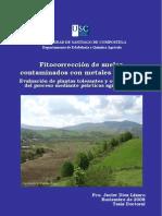 Fitocorrección de suelos