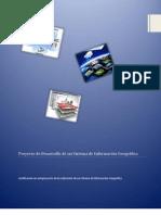 Proyecto de Desarrollo de un Sistema de Información Geográfica