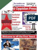 The Oppidan Press - Edition 1 (O-Week) - 2012