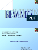 Ing Metodos II.  Por Ing Carlos Araujo