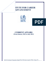 Current Affairs - January 12 to July 12