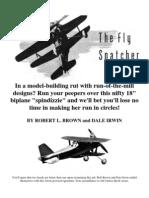 Fly Snatcher Biplane