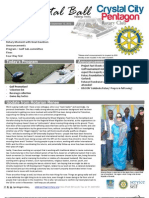 September 12, 2012 Weekly Bulletin - Crystal City-Pentagon Rotary Club
