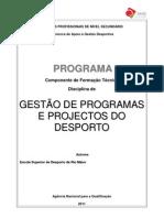 Microsoft Word - Programa  -  Gestão Program e Projec do Desporto