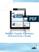 IAB Canada Mobile Advertising Trends