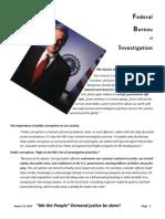 FBI Complaint Obama