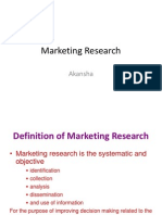 Marketing Research (3)