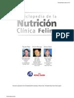 Enciclopedia de la Nutrición Clínica Felina
