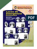 DUAL LIGHT - Luminaria de Emergencia