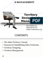 Sales Territory Design & Management