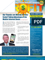 The Profit Newsletter August 2012 for Tampa REIA