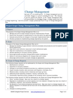 Preliminary Change Management Plan
