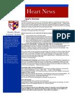 Sacred Heart Catholic School News 09-11-2012