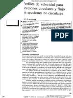 Capítulo 9 - Flujo en secciones circulares y no circulares