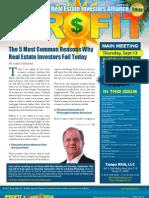 The Profit Newsletter September 2012 for Tampa REIA