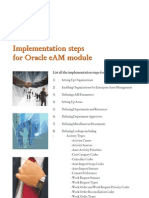 Oracle EAM - Implementation Steps for Oracle eAM Module