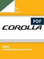 09 Corolla SMG 123138 Eng 1st Print