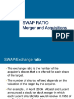 Swap Ratio