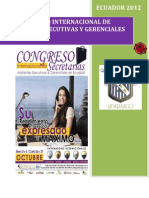 Brief Congreso Internacional de Secretarias Salinas - Costa