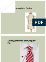 Sizing of Apparel in online business_Ecommerce