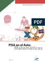 PISA EN EL AULA DE MATEMÁTICAS