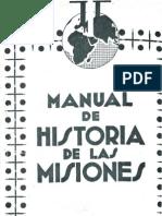 Montalban, Francisco j - Manual de Historia de Las Misiones