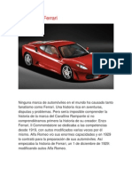 Historia Del Ferrari