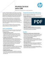 Enterprise App Services for Microsofy Dynamics CRM