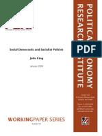 Social Democratic and Socialist Policies - J. E. King