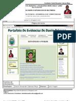 Portafolio de Evidencias 2012 DanielCabezas