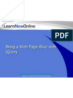 Bring your Web Page Alive with jQuery