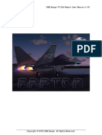 DSB Design YF-22A Raptor Manual