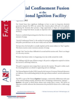 Inertial Confinement Fusion at the National Ignition Facility