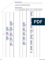 Department Timetable