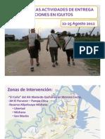 Presentación Informe Iquitos