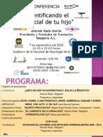 Identificando El Potencial de Tu Hijo San Luis Potosi TeleGenio 7 de septiembre de 2012