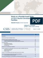 CSIS Israel Iran Strike