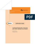 BESA Integrated Iran Attack